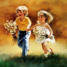 «Пусть всегда будет детство!». Беседа @ Библиотека им. А.Н. Толстого