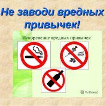 Профилактическая беседа «Не иметь вредных привычек – быть здоровым» @ Центральная районная библиотека им. А.С. Пушкина