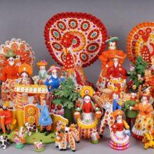 Арт-час «Чудеса народных промыслов» @ Библиотека им. Н.К. Крупской