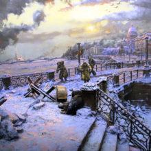 """Час памяти """"В чутком сердце Ленинграда вы останетесь навечно..."""" @ Библиотека им. Н. Гастелло"""